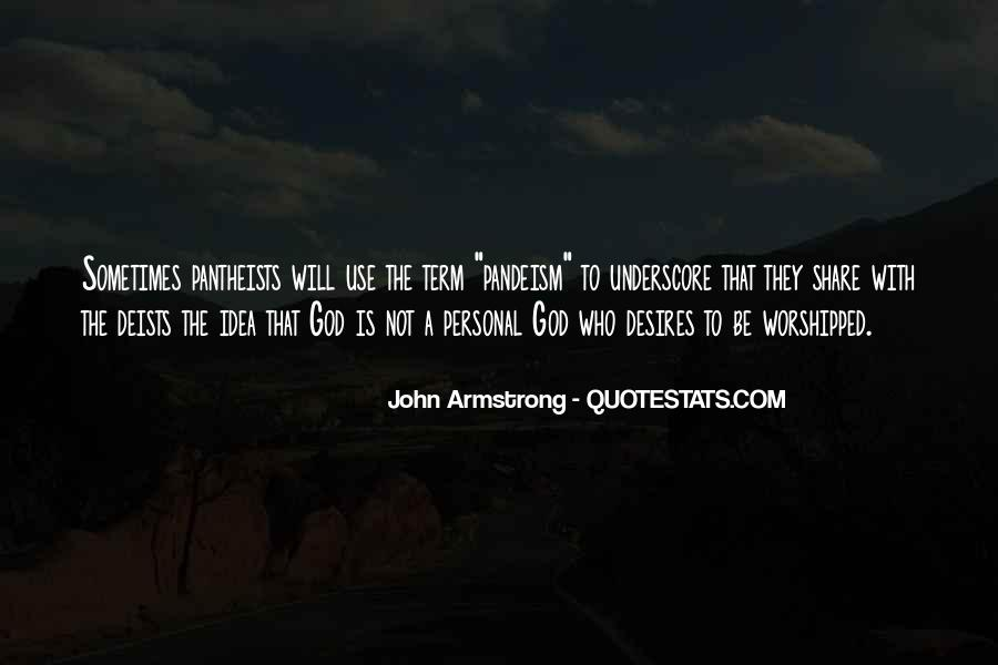 John Armstrong Quotes #690170