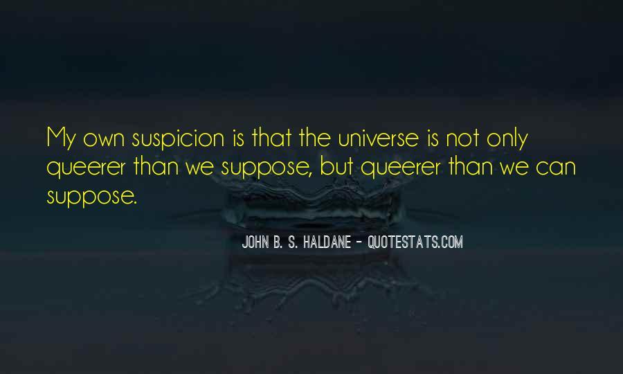 John B. S. Haldane Quotes #1082439