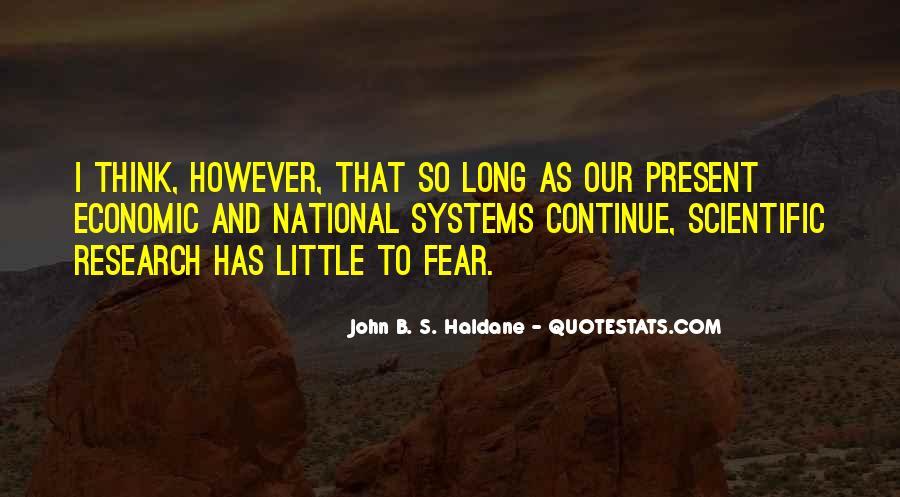 John B. S. Haldane Quotes #1091147