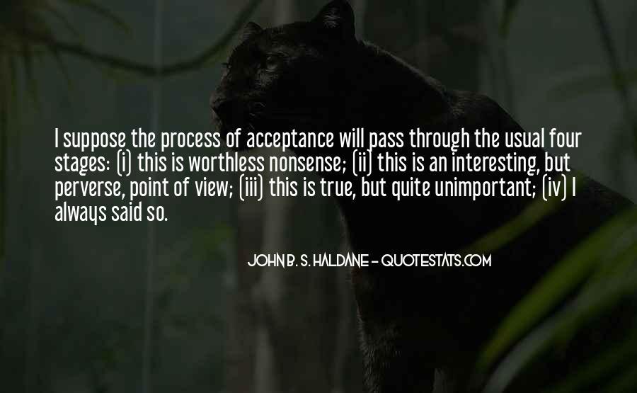 John B. S. Haldane Quotes #1109878