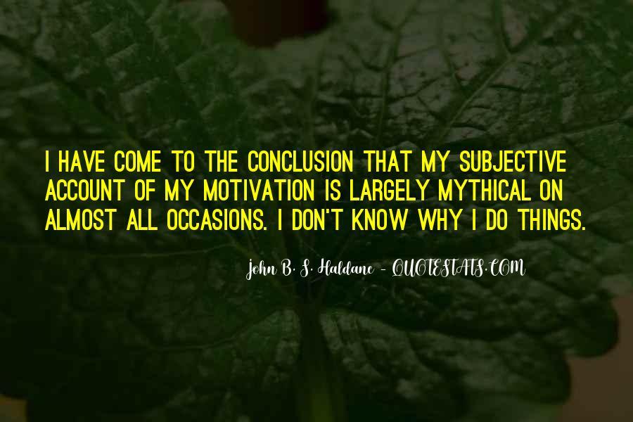 John B. S. Haldane Quotes #1170439
