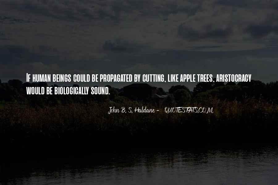 John B. S. Haldane Quotes #1185022