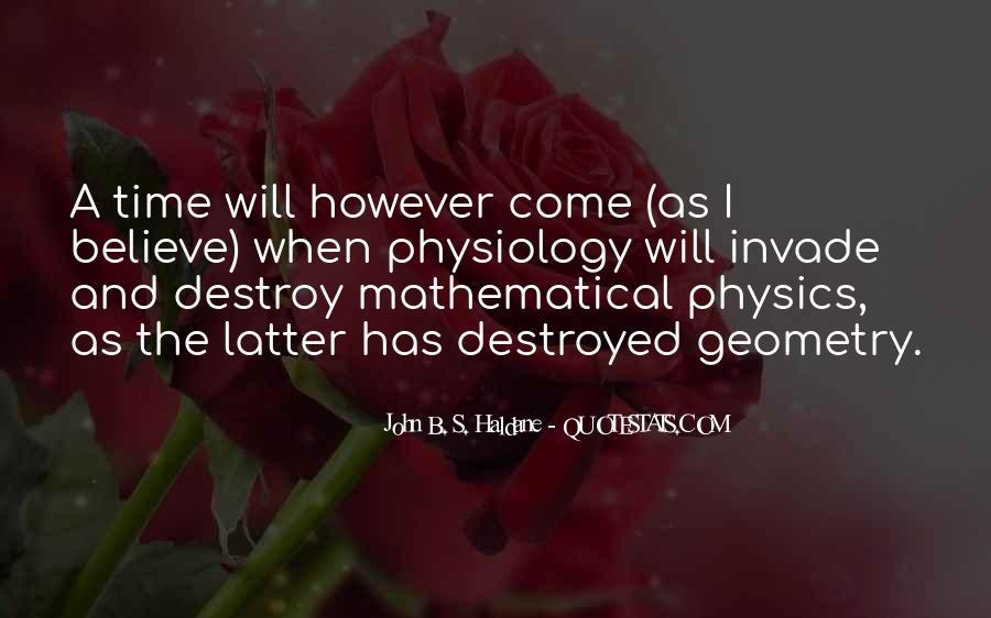 John B. S. Haldane Quotes #1320638