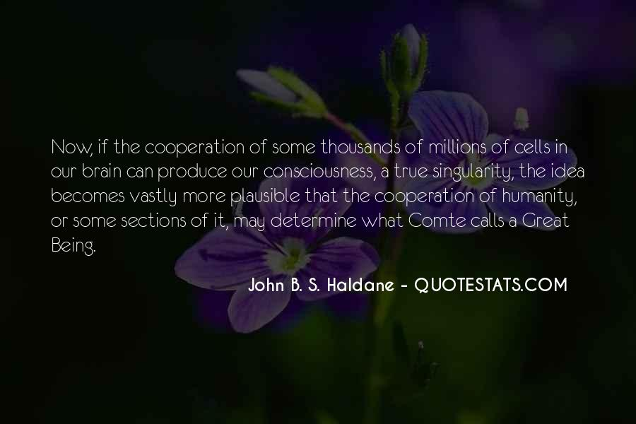 John B. S. Haldane Quotes #1540410