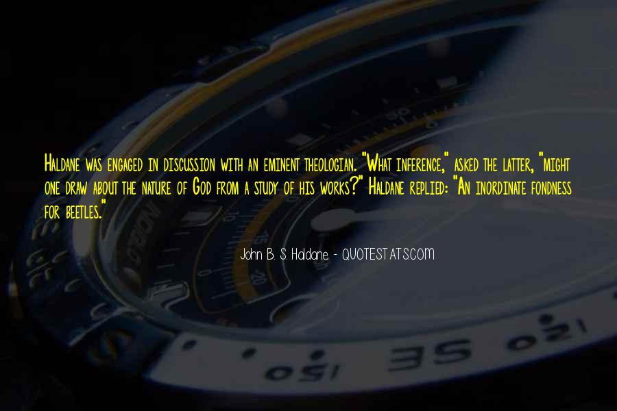 John B. S. Haldane Quotes #1570291