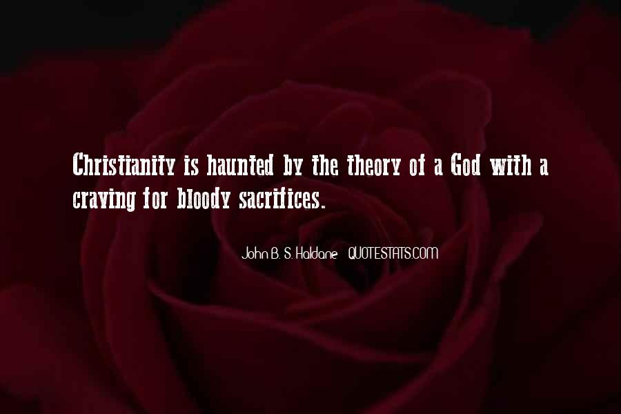 John B. S. Haldane Quotes #1727742