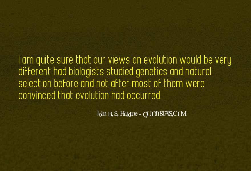 John B. S. Haldane Quotes #1745131