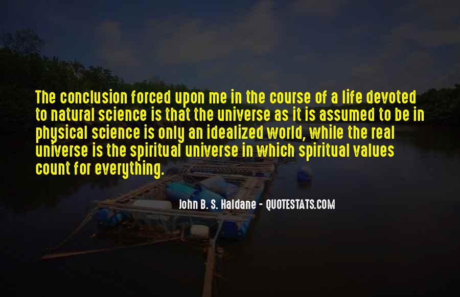 John B. S. Haldane Quotes #311879