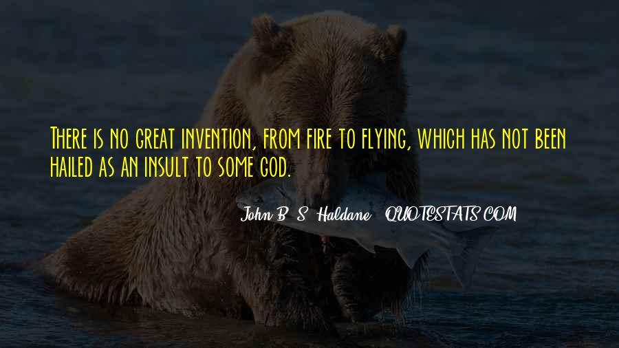 John B. S. Haldane Quotes #451749