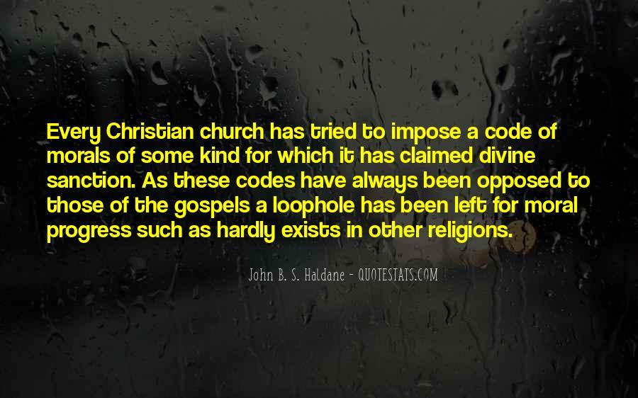 John B. S. Haldane Quotes #647589