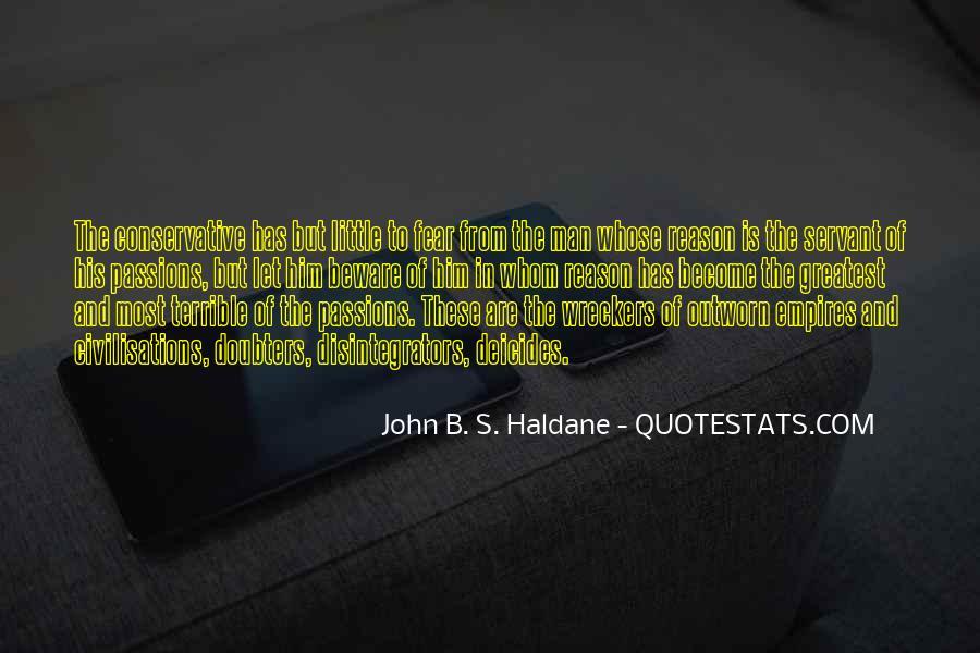 John B. S. Haldane Quotes #790203