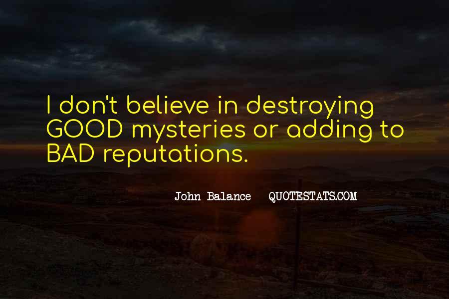 John Balance Quotes #1352404