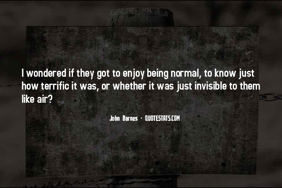 John Barnes Quotes #1530441