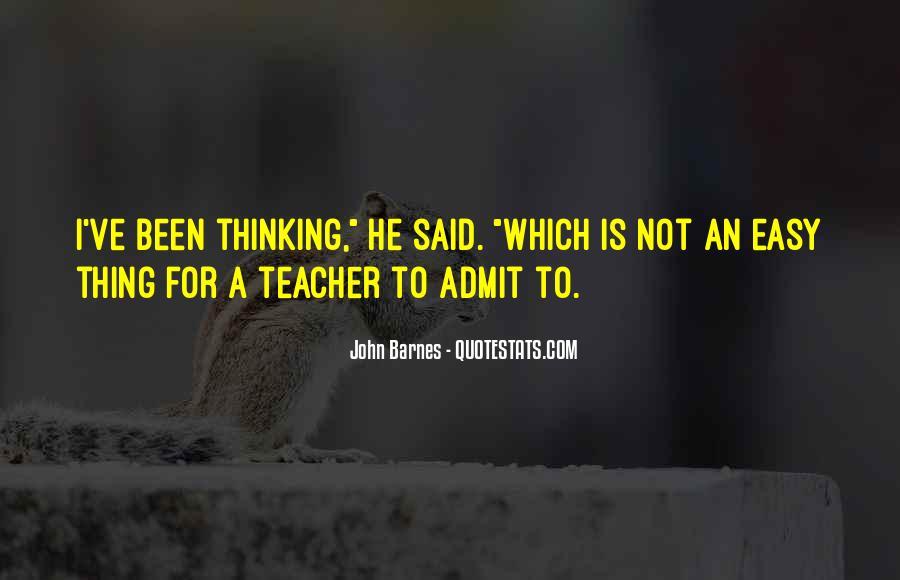John Barnes Quotes #550924