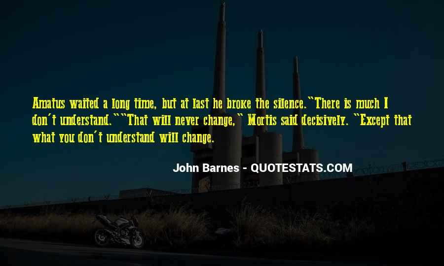 John Barnes Quotes #764100