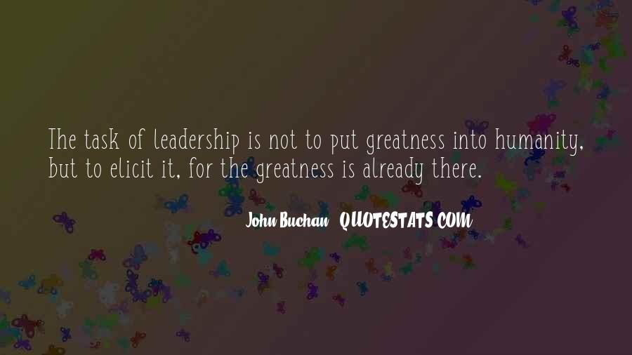 John Buchan Quotes #1817427