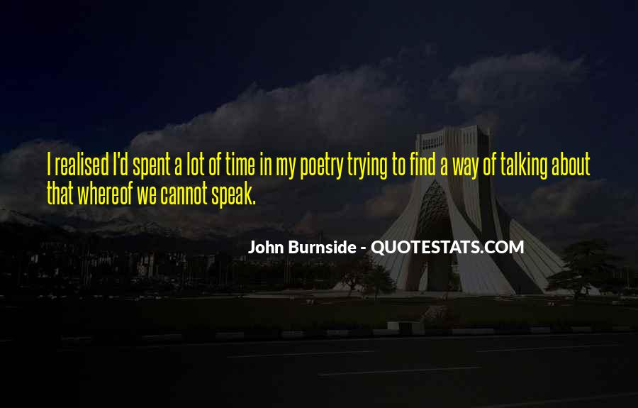 John Burnside Quotes #1682264