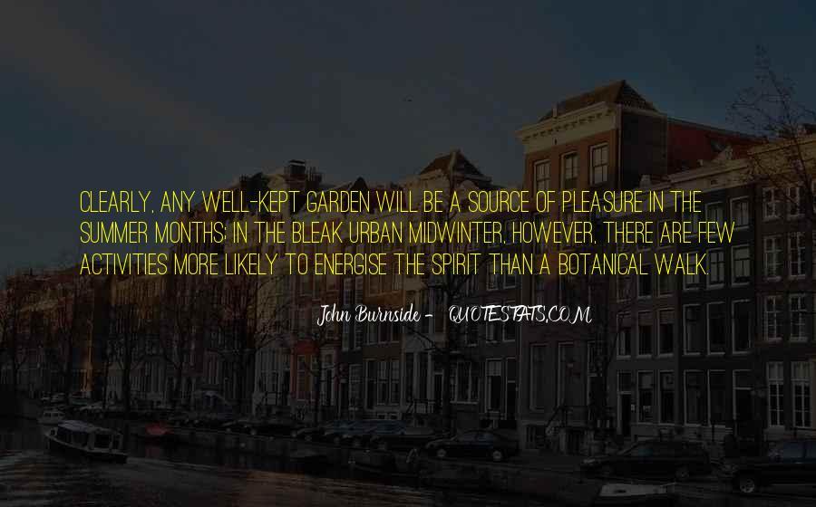 John Burnside Quotes #796518