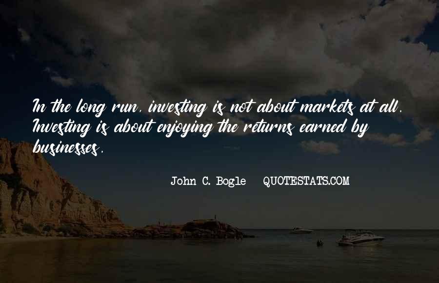 John C. Bogle Quotes #1876073