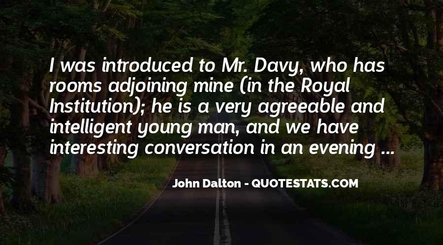 John Dalton Quotes #236025
