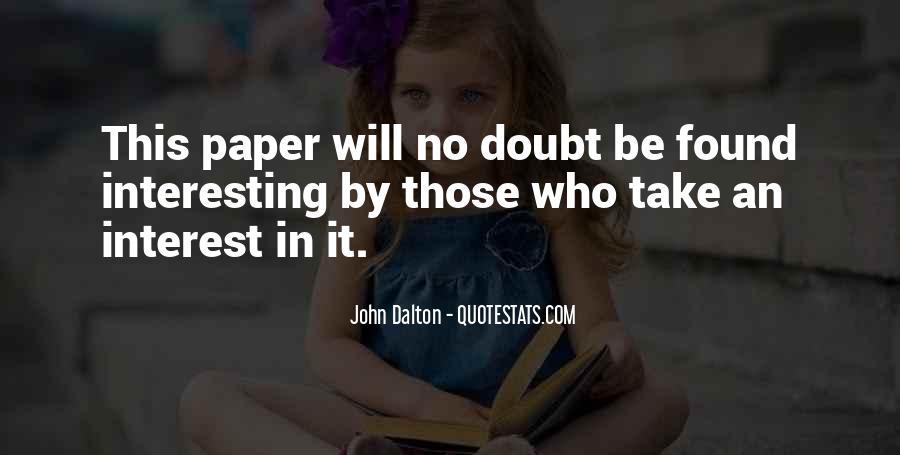 John Dalton Quotes #447251