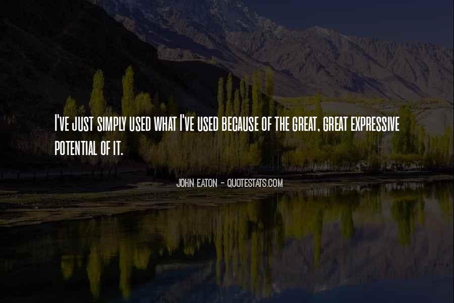 John Eaton Quotes #1014328