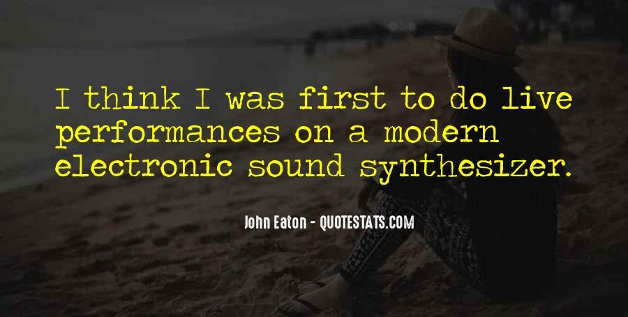 John Eaton Quotes #1159351