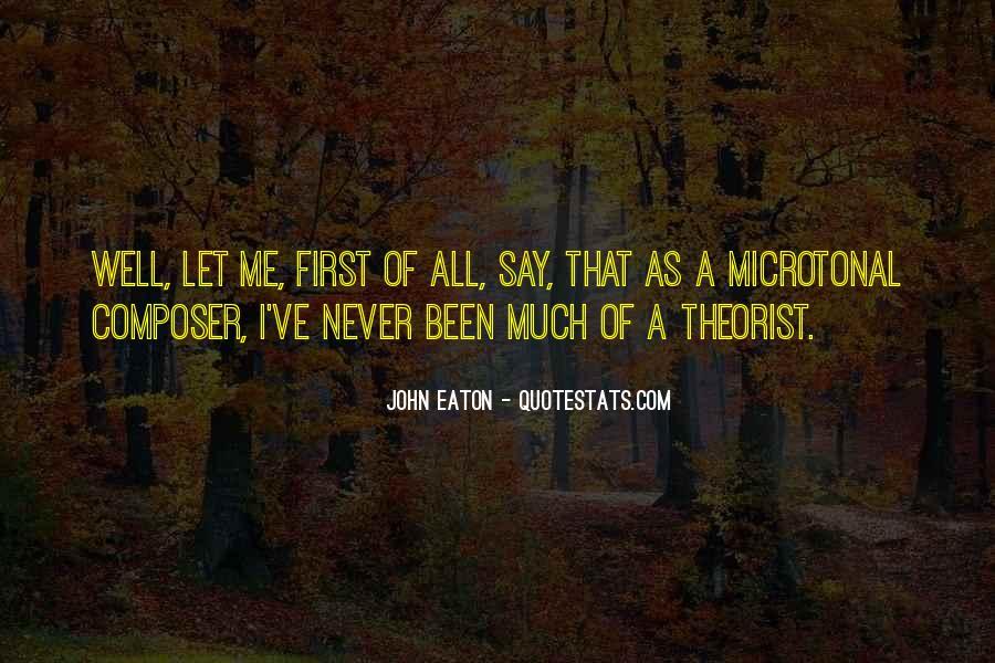 John Eaton Quotes #1620903