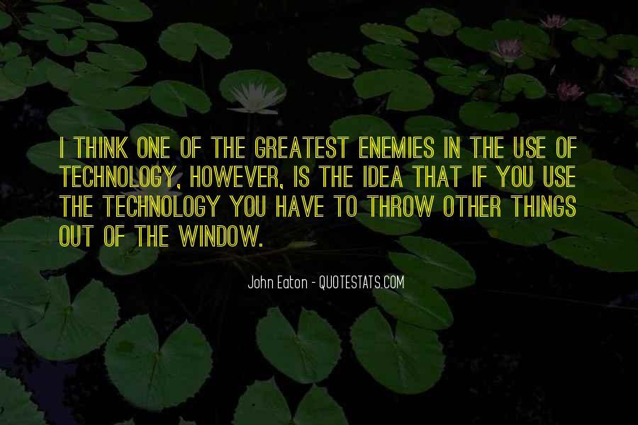 John Eaton Quotes #1690309
