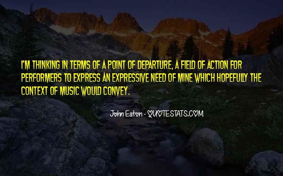 John Eaton Quotes #330713