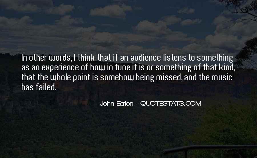 John Eaton Quotes #42270