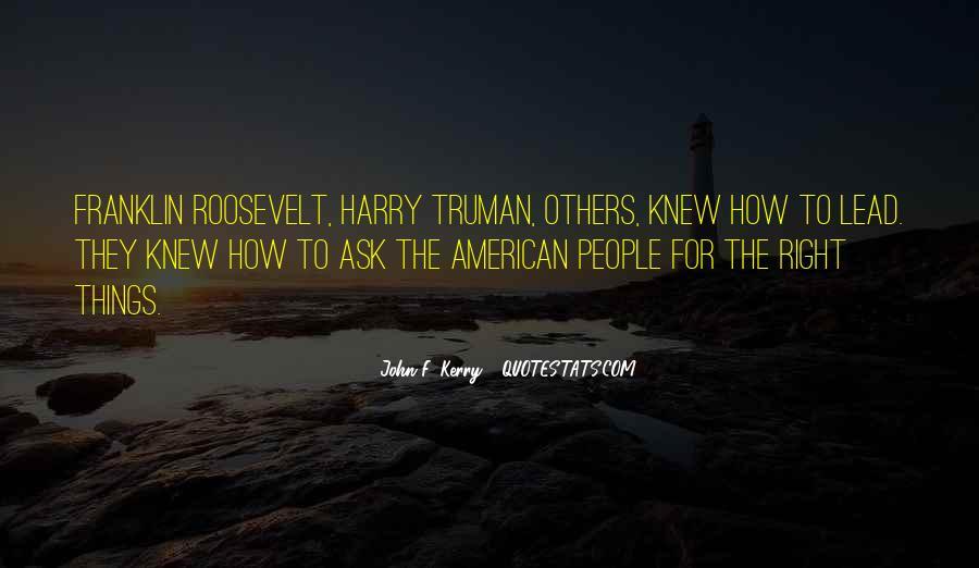 John F. Kerry Quotes #1180327