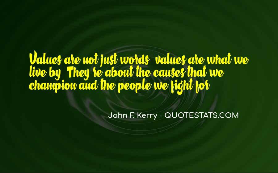 John F. Kerry Quotes #1206417