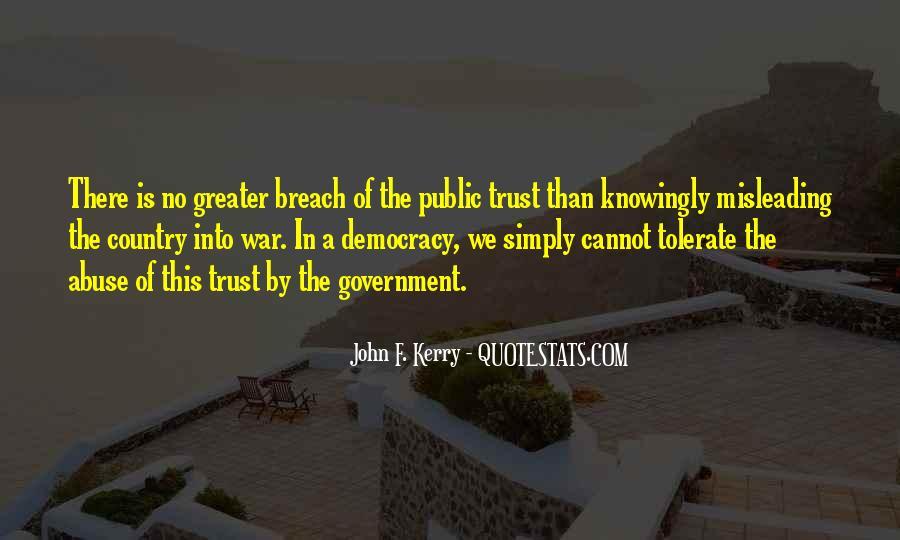 John F. Kerry Quotes #1376617