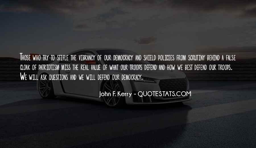 John F. Kerry Quotes #853906