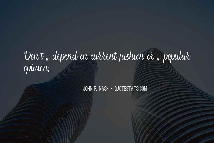 John F. Nash Quotes #310344
