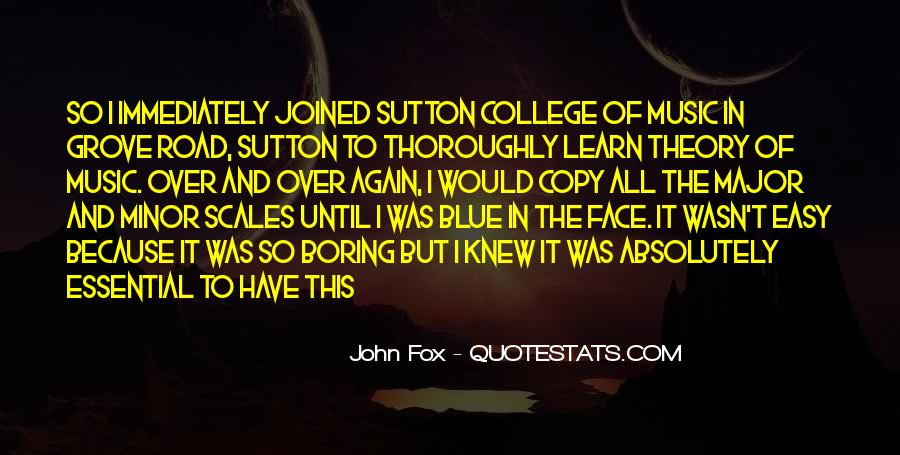 John Fox Quotes #1454539