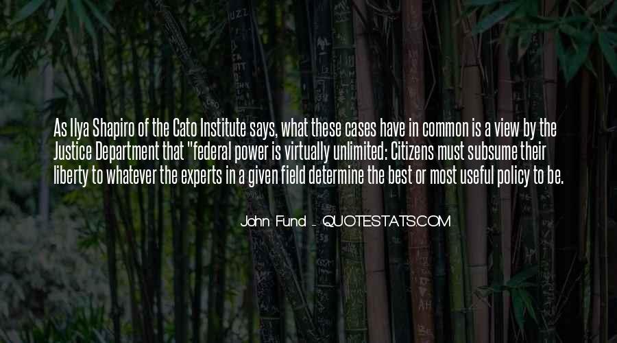 John Fund Quotes #1486066