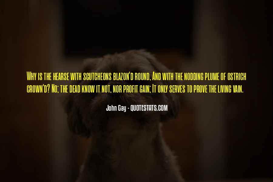 John Gay Quotes #586233