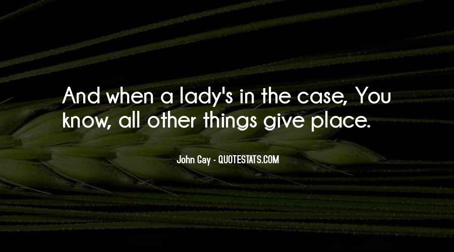 John Gay Quotes #97074