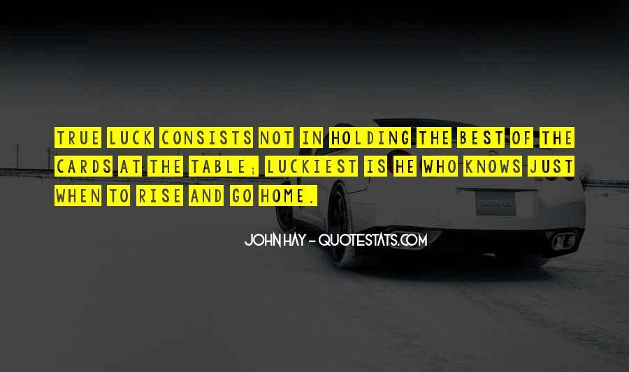 John Hay Quotes #151365