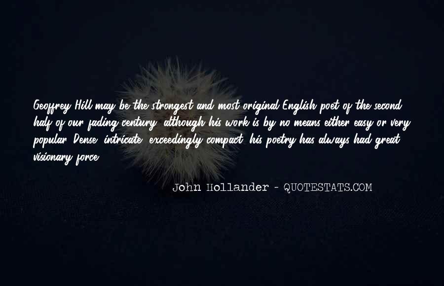 John Hollander Quotes #1625199