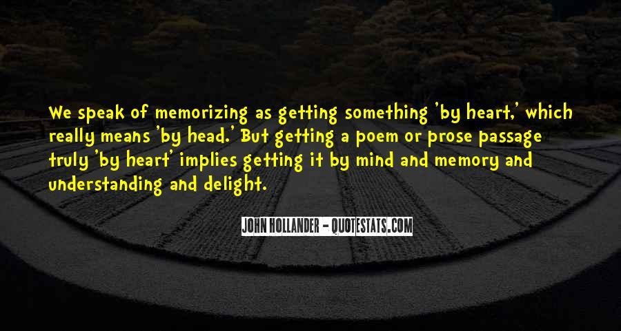 John Hollander Quotes #459596