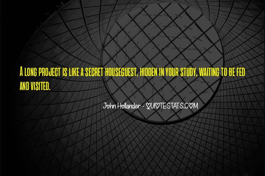 John Hollander Quotes #69998