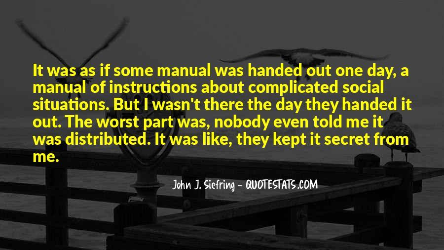 John J. Siefring Quotes #63253