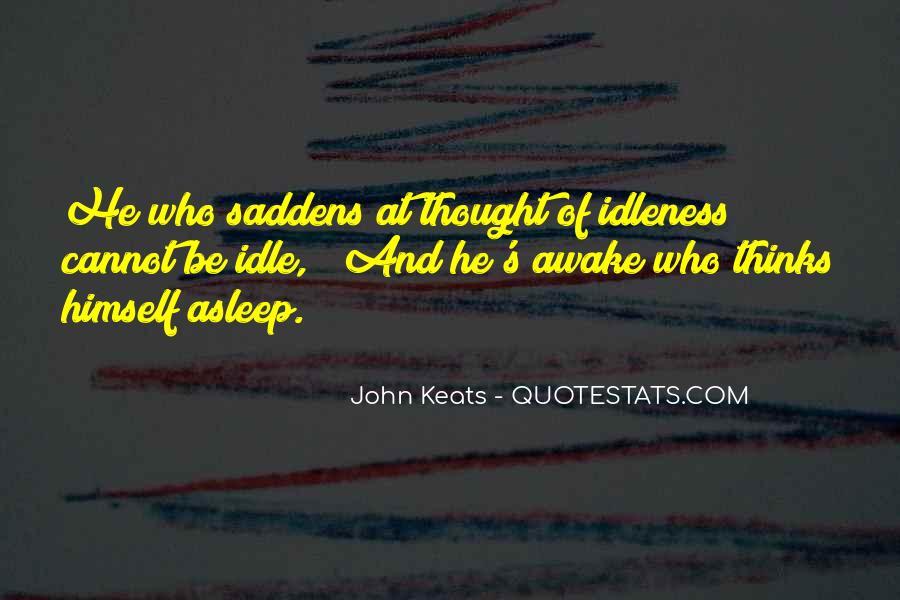 John Keats Quotes #1053309