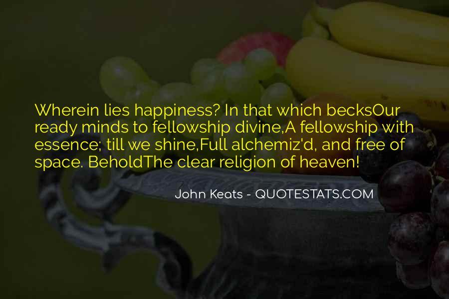 John Keats Quotes #127343
