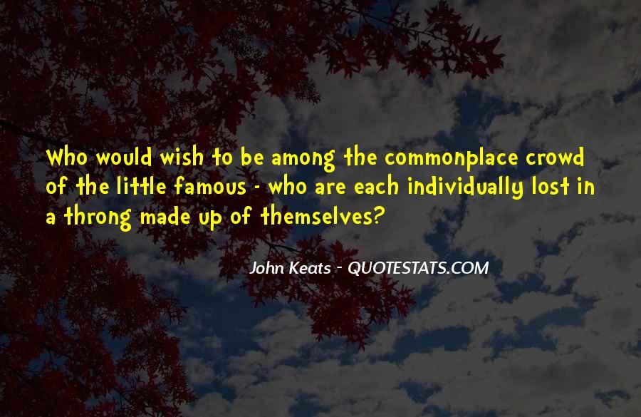 John Keats Quotes #1309707