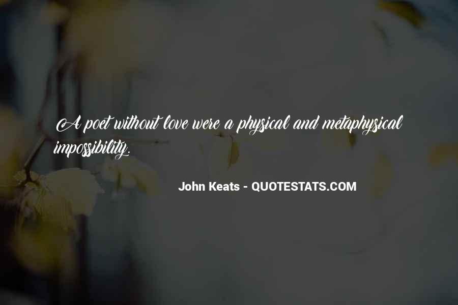 John Keats Quotes #1459956