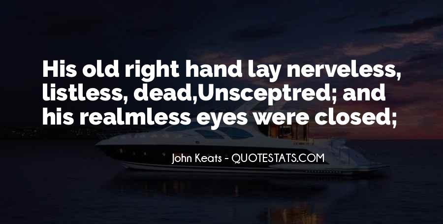 John Keats Quotes #1496550